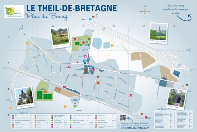 Plan du bourg - Relais Informations Services 2016